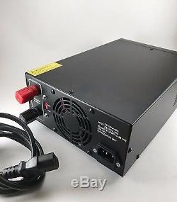 DELTA DPS60M 60 Amp 12v AC/DC Power Supply with Volt AMP Meter Ham CB Radio