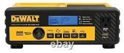 DEWALT DXAEC801B 30 Amp Bench Battery Charger 80 Amp Engine Start 12 Volt