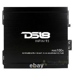 DS18 100 Amp DC Power Supply 10 to 16 Volt Adjustable Converts AC 110V Converter