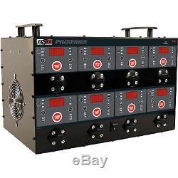 DSR ProSeries 8-Bank Charging Station 6/12 Volt, 12 Amp, Model# DSR127