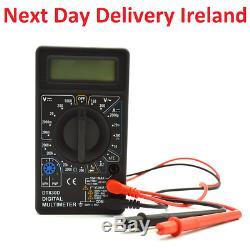 DT-830D LCD Digital Multimeter AC/DC 750/1000V Amp Volt Ohm Tester Meter New