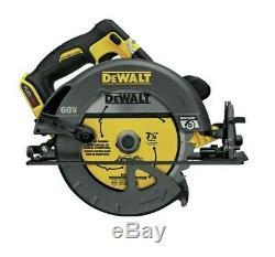 DeWALT DCS575B FLEXVOLT 60-Volt 15-Amp 7-1/4-Inch Circular Saw Bare Tool