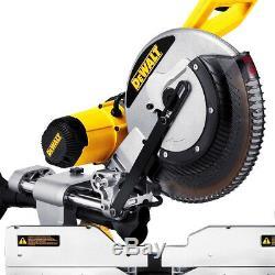 DeWALT DWS709 120-Volt 12-Inch 15-Amp 3,800-RPM Dual Slide Compound Miter Saw