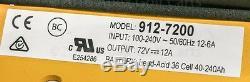 Delta Q QuiQ Charger 72 volt / 12 amp Polaris Gem Car 912-7200 Chrysler GEM NEV