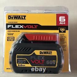 Dewalt DCB606 60 volt Flex Volt 6 amp Battery NEW In Package