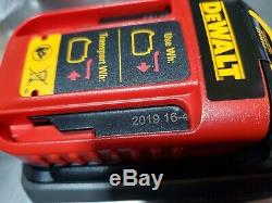 Dewalt DCB606 Lot of (2) 60 volt Flex Volt 6 amp Battery NEW date code 2019