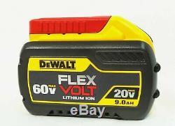 Dewalt DCB609 60 volt 20V / 60V Flex Volt 9 amp Li-Ion Max Battery NEW