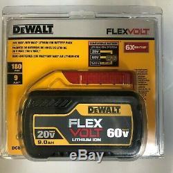 Dewalt DCB609 60 volt Flex Volt 9 amp Battery NEW in package