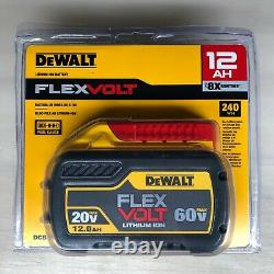 Dewalt DCB612 20/60 volt 12 amp Battery NEW in package 2 DAY SHIP