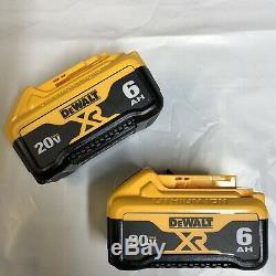Dewalt Lot of 2 DCB206 20 volt Lithium 6.0 amp battery New w fuel gage DCB206-2