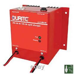Durite Electronic Split Charger 12 volt to 24 volt 10 amp Bx 1 0-852-51