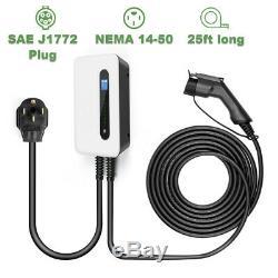 EVSE Electric Vehicle Charger Level2 220V 32Amp EV car Charging station J1772