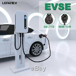 EV Charging station 32Amp level 2 Electric Vehicle Charger J1772 NEMA 14-50 EVSE