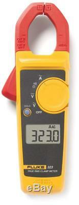 Fluke 323 Clamp On Amp Meter DC Electrical Tester Volts Ohms Electrical 400 Amp