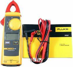 Fluke 362 AC/DC Digital Clamp Meter Handheld Multimeter Current 200AMP 600 Volt