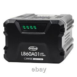 For GreenWorks Pro 60-Volt Max 5.0-Amp Hours Lithium Ion Battery Cordless Power