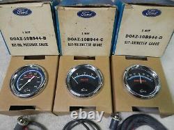 Ford/Sun Gauges, Amp, Volts, Oil 1965/73 Mustang Torino Fairlane Cougar, NOS