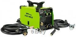 Forney 120 Volt 140 Amp Easy Weld Multi-Process (MIG/TIG/Stick) Welder