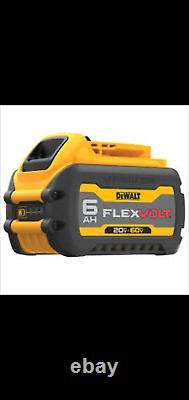 GENUINE Dewalt DCB606 60 volt Flex Volt 6 amp Battery NEW FLEVOLT BATTERY
