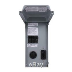 GE 70 Amp 2-Space 2-Circuit 240-Volt Unmetered RV Outlet Box With 50 Amp And 20
