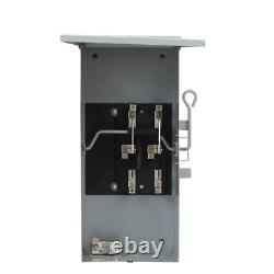 GE Emergency Power Transfer Switch 200 Amp 240-Volt Non-Fused