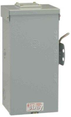 GE Generator Emergency Power Transfer Switch 100 Amp 240-Volt Non-Fused TC10323R