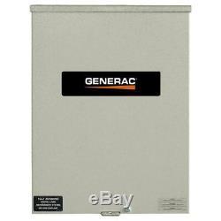 Generac RXSC100A3 120/240-Volt 100-Amp NEMA 3R CUL Smart Transfer Switch
