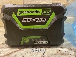 GreenWorks Pro 60V 4.0Ah HC 216wh Lithium-Ion Battery LB604 60 Volt 4 AMP HR