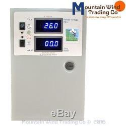 HVA 10,000 watt 440 Amp charge controller 12/24/48 volt 4 wind turbine solar