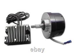 Harley Davidson Panhead XL W 17 Amp 12 Volt Alternator Generator Conversion Kit