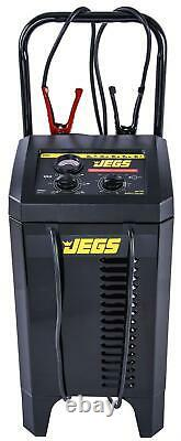 JEGS 81994 Battery Charger and Engine Starter 6 & 12-Volt, 200 Amp