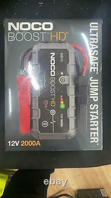 JUMP STARTER NOCO Genius Boost HD GB70 2000-Amp 12-Volt UltraSafe Lithium