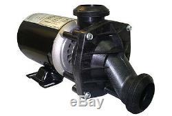 Jacuzzi, Sundance Spas J PUMP 115 volt. 2-speed. 12.2/3.8 amp 2500-255