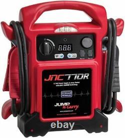 Jump N Carry JNC770R 1700 Peak Amp Premium 12-Volt Jump Starter (Red) Clore Auto