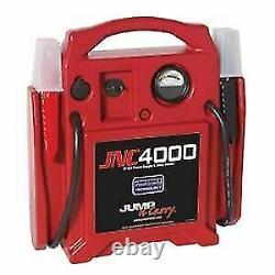 Jump N Carry JNC 4000 1100 Peak Amp 12 Volt Jump Starter NEW