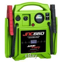 Jump Starter 1700 Peak Amp 12 Volt HI VIZ Green SOLJNC660G Brand New