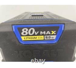 KOBALT 80v 5.0Ah MAX LITHIUM-ION Battery KB580-06 80 Volt 5.0 Amp Ah