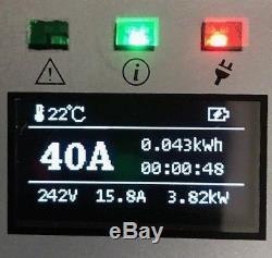 LEVEL 2 EV 40 AMP 220 Volt Electric Car Charger with NEMA 14-50 BOLT LEAF TESLA