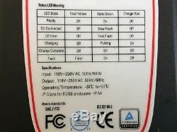 Level 2 Electric Car Charger 16 amp i3 Leaf Chevy Volt BOLT 220/240 14-50 Plug