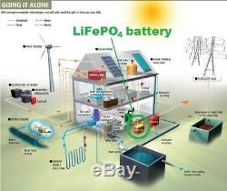 LiFePO4 12V 100Ah Lithium Battery motorhomes RV camping 12 volt 100 amp lifepo