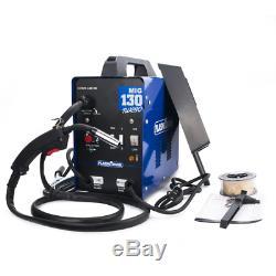 MIG 130 Welder 120AMP 110V Dual Volt Welder MIG Inverter Welding Machine