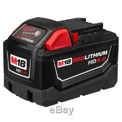 Milwaukee 48-11-1890 M18 18-Volt 9.0 Amp Lithium-Ion Cordless Battery Pack