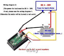 Mini Digital Voltmeter Ammeter DC 100V 10A Car LED Display Panel Amp Volt Tester