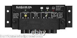 Morningstar SS-20L-24V SunSaver 20 amp 24 volt Solar Charge Controller with LVD