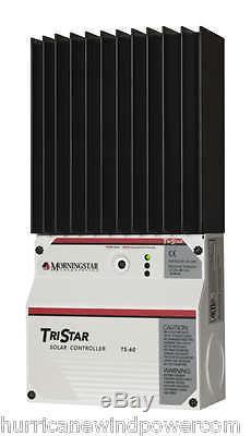 Morningstar TS-60 TriStar-60 amp 12/24/48 volt Solar Charge Controller