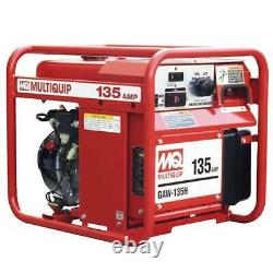 Multiquip GAW135H 135-Amp 5.5-Hp 120-Volt Gas Powered Welding Generator