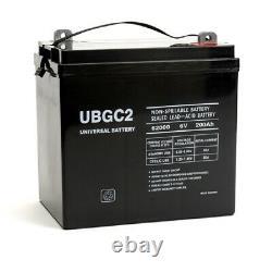 NEW 6 PACK AGM UBGC2 Golf Cart SLA/AGM Battery 6 Volt 200 Amp Hour Capacity