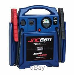 NEW Clore Automotive Jump-N-Carry JNC660 1700 Peak Amp 12 Volt Jump Starter