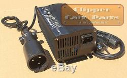 NEW Club Car 48 Volt Golf Cart Battery Charger Style (5 amp) With Powerdrive Plug