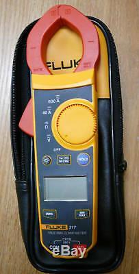 NEW Fluke 317 Digital Clamp Meter Volt Amp REL